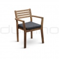 Patio & outdoor wooden chairs, director chairs - DL MALDIV