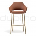 Upholstered bar stools - PEDRALI VIC BS
