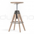 Metal bar stools - PEDRALI ARKI-STOOL