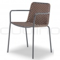 Patio & outdoor wicker, rattan dining chairs - GR NICE