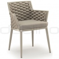 Patio & outdoor wicker, rattan dining chairs - GR LION