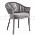 Patio & outdoor wicker, rattan dining chairs - GR VARNA