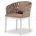 Patio & outdoor wicker, rattan dining chairs - GR BARACOA