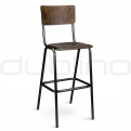 Vintage bar stools, cross back bar stools - CI SCUOLA BS