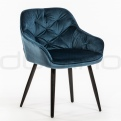 Upholstered dining chairs - DL LORD BLUE