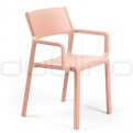 Patio & outdoor plastic chairs - NARDI  TRILL P
