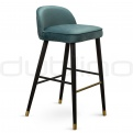 Upholstered bar stools - BD MINNIE BS BLUE