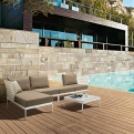 Outdoor lounge seating - CO/VILL