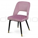 Upholstered dining chairs - DL FANNY Puder
