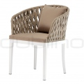 Patio & outdoor wicker, rattan dining chairs - DL MAIORCA