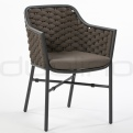 Patio & outdoor wicker, rattan dining chairs - DL MIAMI