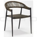 Patio & outdoor restaurant and hotel furniture - DL IBIZA CHAIR