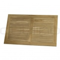 DL SAHARA TEAK WOOD TABLE TOP 120 x 80 #3