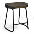 Upholstered dining chairs - DL ROCKY STOOL