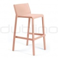 Patio & outdoor plastic chairs - NARDI TRILL STOOL