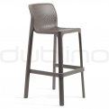 Patio & outdoor plastic chairs - NARDI NET STOOL