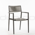 Patio & outdoor dining chairs, garden chairs - DL ASTON BLACK