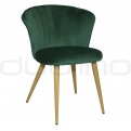 Upholstered dining chairs - DL ORCHIDEA GREEN