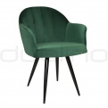 Upholstered dining chairs - DL ADEL GREEN