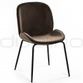 Upholstered dining chairs - DL MARCO GREY