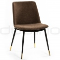 Upholstered dining chairs - DL ROSSI DARK