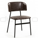 Upholstered dining chairs - DL AMY TAUPE